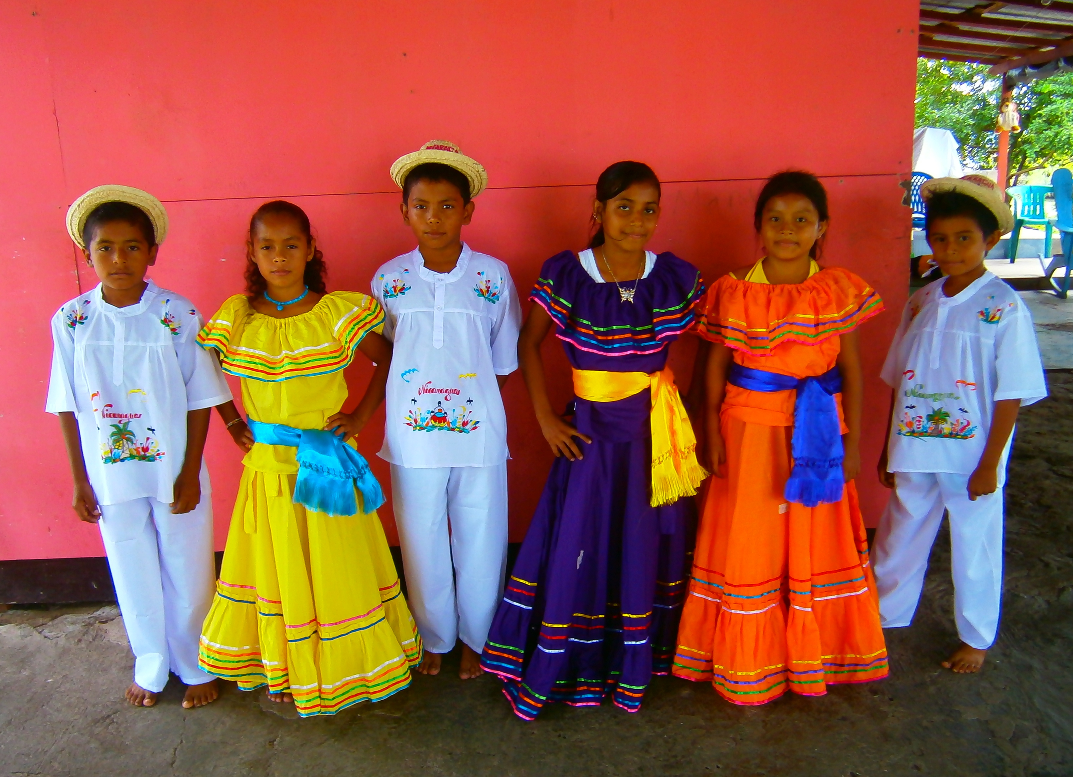 Traditional Nicaraguan Dance Costumes for the