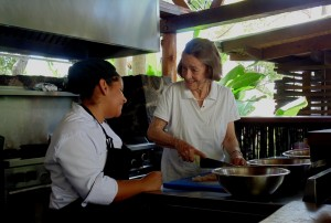 Staying at a Luxury Ecolodge means you can do anything, including make traditional Nicaraguan food.