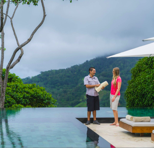 At Cayuga, we strive to find the perfect symbiosis between Luxury and Sustainability. Not always an easy task. At Kura Design Villas in Uvita, guests don't have to give up creature comforts to enjoy a guilt free vacation experience.