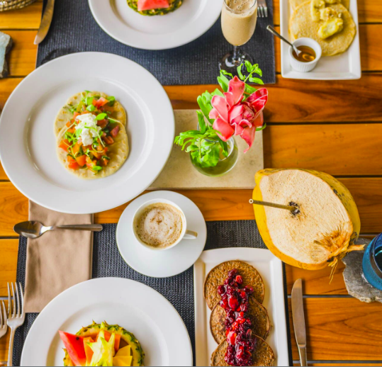 The Culinary Experience is a very important part of the guest experience. We use fresh local – and when possible – organic ingredients prepared by local chefs.