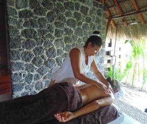 Having a spa treatment is the perfect way to relax on holiday